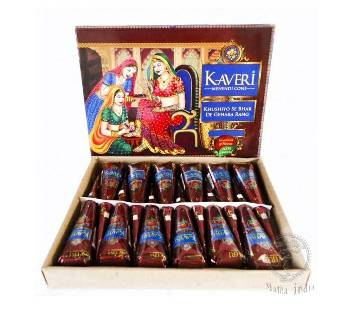 Kaberi Mehedi (12 Pieces) INDIA