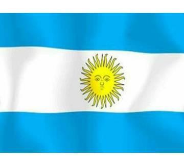 Argentine  ন্যাশনাল ফ্ল্যাগ (৫ ফুট)