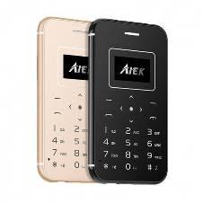 Aiek X8 Mini Card Phone Single Sim Bluetooth