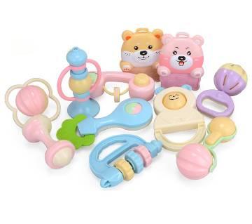 Newborn 12-Piece Rattle Set