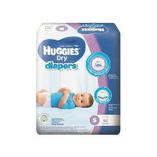 Huggies Baby Diaper Dry S, 3-7Kg, 60pcs Belt System