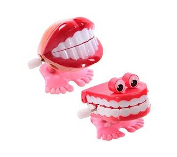 WIND UP CHATTERING TEETH (2 Pc)