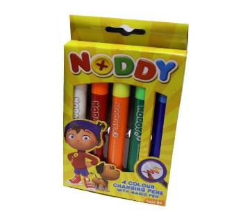 NODDY 4 COLOUR CHANGING PENS