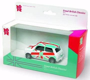 Corgi Mini Cooper Car - London 2012 Olympic Special