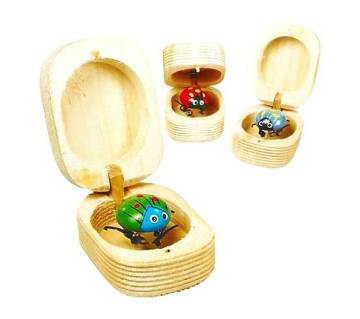 Wooden Jitterbugs 1 Pc