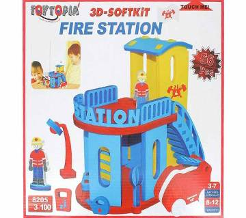 3D Soft kit Fire Station