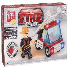 Block Tech Fire Dept টয় ফর কিডস বাংলাদেশ - 7418812