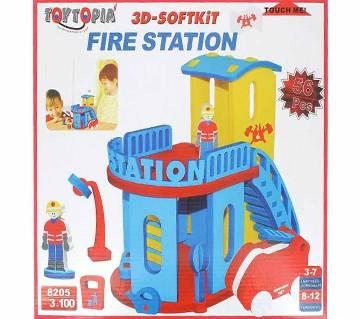 3D Soft kit Fire Station
