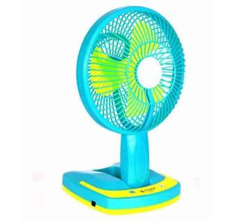 rechargeable folding fan with led light
