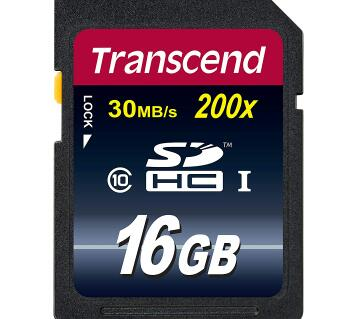 Transcend 16gb SDHC SD Card