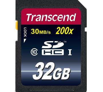 Transcend 32gb SDHC SD Card
