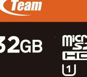 Team Micro SD 32GBMemory Card