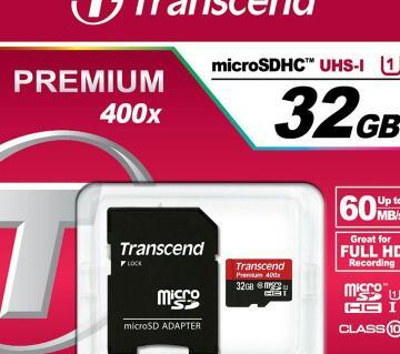 Transcend 32GB microSDXC SDHC Class 10