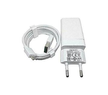 OPPO VOOC First Flash Charger With USB Cable  White