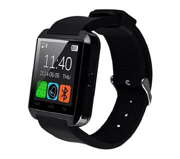 U8 Smart Bluetooth Gear Watch  Black