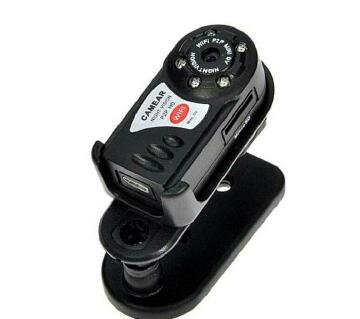 Q7 Mini WiFi Spy HD Camera Black