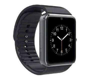 GT08 Smart watch  Black Sim Supported