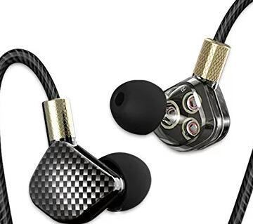 QKZ KD6 Earphone 6 Units Balanced Armature BA Drivers In-Ear Monitor Noise Cancelling Custom Earphone/Headset