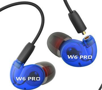 QKZ W6PRO Plug-in Sports Earphones