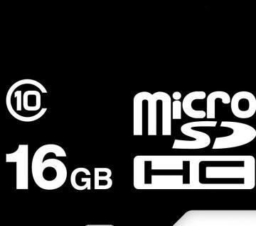 মাইক্রো SD মেমোরি কার্ড - 16 GB