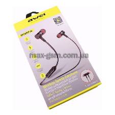 Awei B922BL - Wireless Bluetooth Earphone - Black