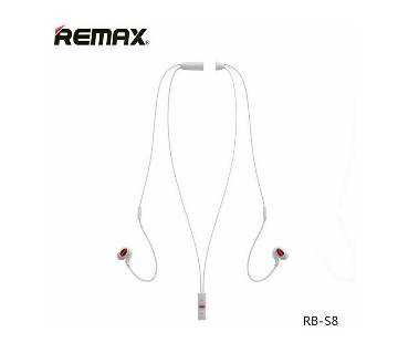 REMAX RBS8 Sport Magnetic Wireless Bluetooth 4.1 Headphone