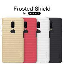 Nillkin Super Frosted Shield Matte cover case for Oneplus 6 (Screen Protector Free)