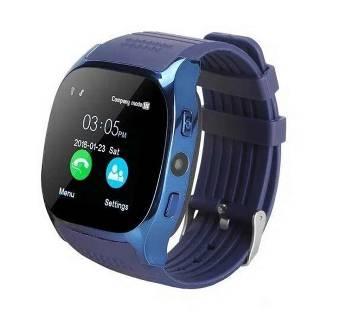 T8 Smartwatch Bluetooth Camera- Blue