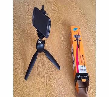 YUNTENG YT-228 Mini Tripod Holder For Mobile And Camera - BLACK