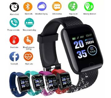 116+ Plus Waterproof Bracelet & Fitness Tracker