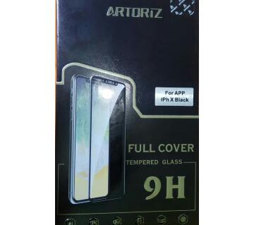 ARTORIZ ,TEMPERED FULL COVER GLASS FOR iPhone 10