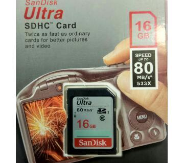 SanDisk SD কার্ড - ১৬ জিবি
