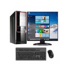 """ডেস্কটপ সেট - Core 2 Dou 500GB HDD 4GB RAM 17"""" LED Monitor With USB Keyboard & Mouse"""