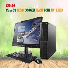 RAM 8GB_HDD 500GB_CORE I3 & 19