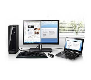 """Desktop Computer Package- Core i3_HDD 250Gb_RAM 4Gb+19"""" LED"""
