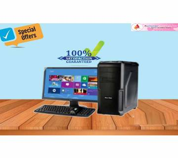 "Desktop Computer Package- Core i3 (7 Gen) 1000GB+8GB+4GB Graphics & 19"" LED"