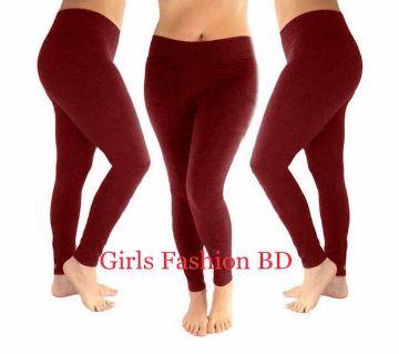 Ladies Leggings (Maroon)