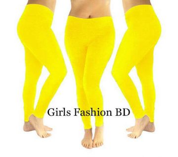 Ladies Leggings (Yellow)