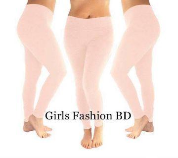 Ladies Leggings (Baby Pink)