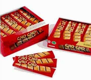 Cho Cho Milk Chocolate bar 50pcs Indonesia