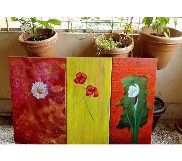 Multi Acrylic on Canvas