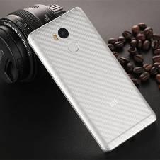কার্বন ফাইবার স্টিকার ফর Xiaomi Redmi 5 plus- Transparent