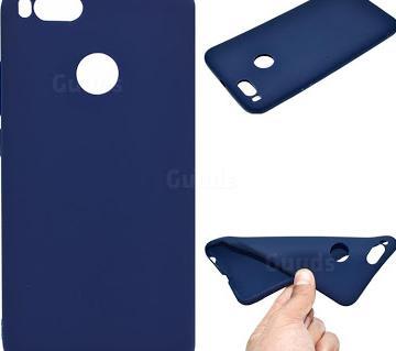 Buseus Soft TPU Back Cover for Xiaomi Mi A1 / Mi 5X - Blue