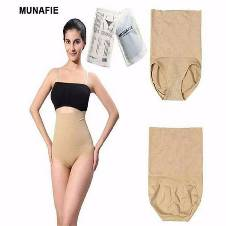 MUNAFIE Waist Slimming Panty For Women - Skin Color