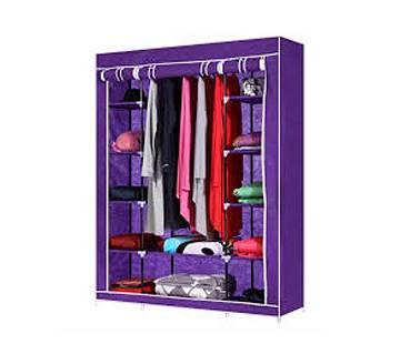 বিগ সাইজ 3 Part অর্গানাইজ ফর ক্লোথ - Purple