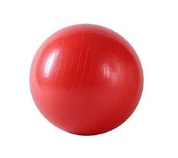 Ahmed Sports Gym Fitness Ball - Red