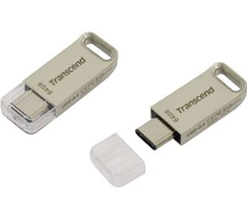 Transcend JetFlash 850S USB 3.1 Type C Capacity:64gb