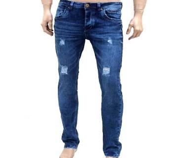 gents narrow fit denim jeans pant