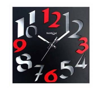 3D style wall clock