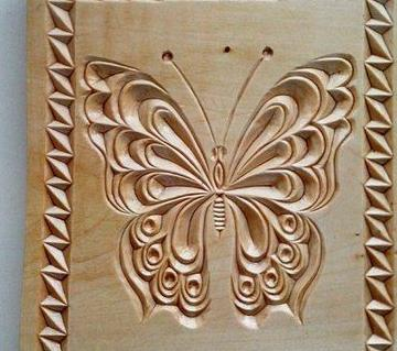 butterfly design wall frame